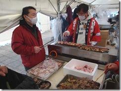 関川3種の肉をやきまくりました!!