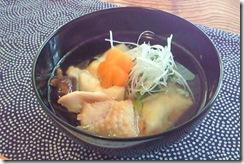 もんじゃ鶏(まる)雑煮