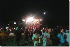 大盆踊り大会の様子