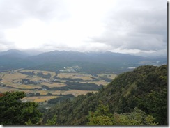 朴坂山山頂からの景色