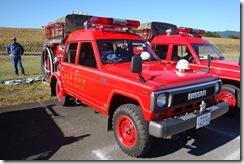 我が地区の消防ポンプ車です。