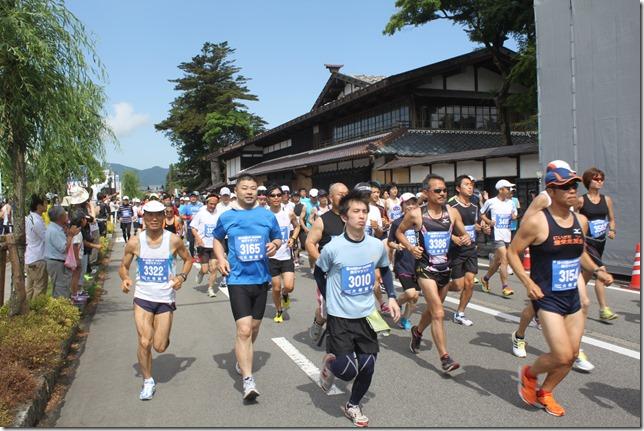 関川マラソン大会