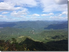 立烏帽子山頂からの景色その2