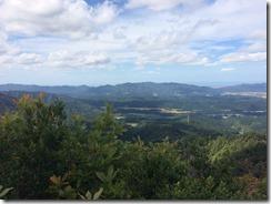 立烏帽子山頂からの景色その3