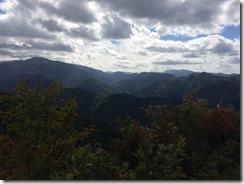 立烏帽子山頂からの景色その4