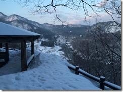 早朝の磐梯朝日国立公園(鷹巣キャンプ場)